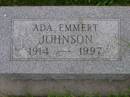 JOHNSON, ADA EMMERT - Dallas County, Iowa | ADA EMMERT JOHNSON