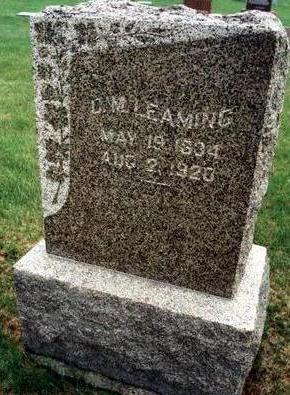 LEAMING, C.M. - Dallas County, Iowa | C.M. LEAMING