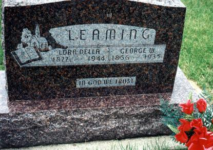 LEAMING, GEORGE W. - Dallas County, Iowa | GEORGE W. LEAMING