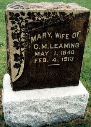 NEWLAND LEAMING, MARY - Dallas County, Iowa | MARY NEWLAND LEAMING