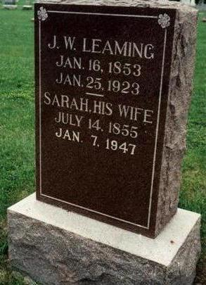 LEAMING, SARAH - Dallas County, Iowa | SARAH LEAMING