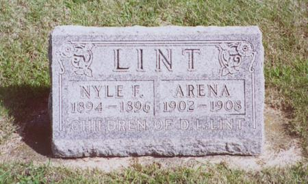 LINT, NYLE F. - Dallas County, Iowa | NYLE F. LINT