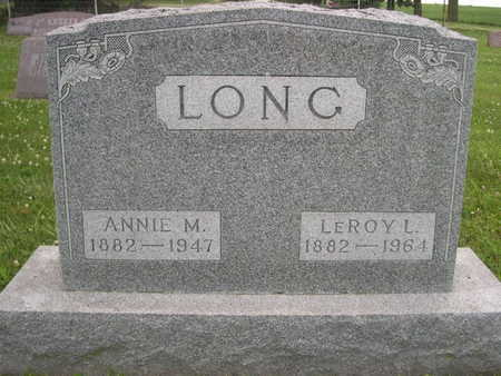 LONG, LEROY L. - Dallas County, Iowa | LEROY L. LONG