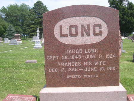 LONG, JACOB - Dallas County, Iowa | JACOB LONG