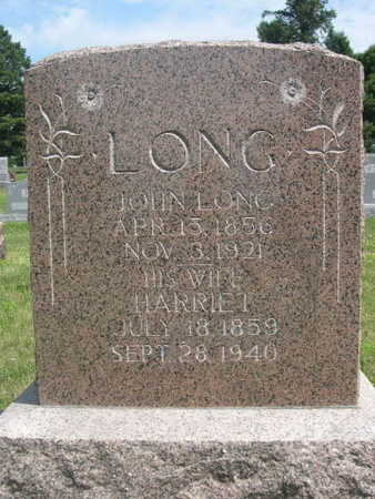 LONG, JOHN - Dallas County, Iowa | JOHN LONG
