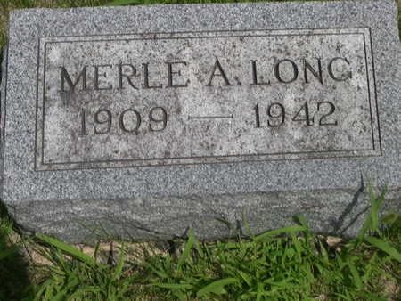 LONG, MERLE - Dallas County, Iowa | MERLE LONG