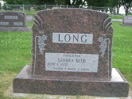 LONG, SANDRA BETH - Dallas County, Iowa | SANDRA BETH LONG