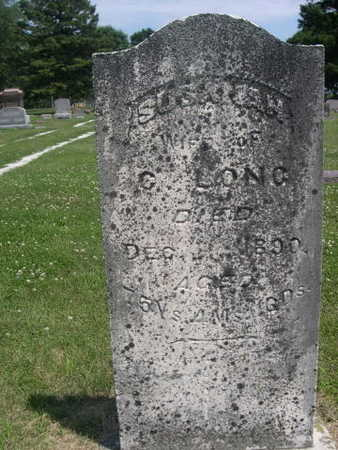 LONG, WIFE OF C. LONG - Dallas County, Iowa | WIFE OF C. LONG LONG