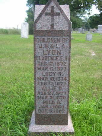 LYON, LUCY R. - Dallas County, Iowa | LUCY R. LYON
