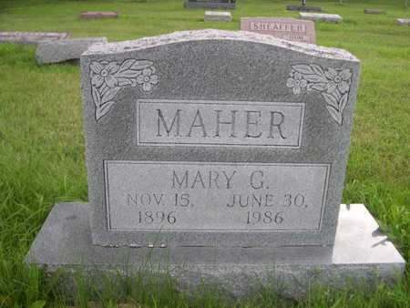 MAHER, MARY G. - Dallas County, Iowa | MARY G. MAHER