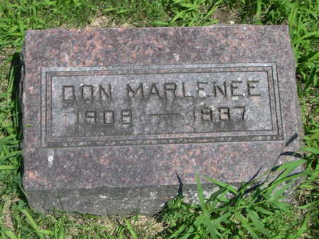 MARLENEE, DON - Dallas County, Iowa | DON MARLENEE