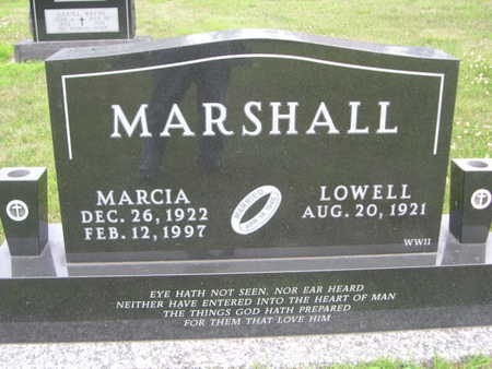 MARSHALL, LOWELL - Dallas County, Iowa | LOWELL MARSHALL