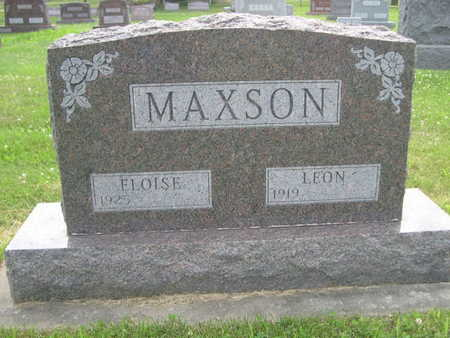 MAXSON, ELOISE - Dallas County, Iowa | ELOISE MAXSON