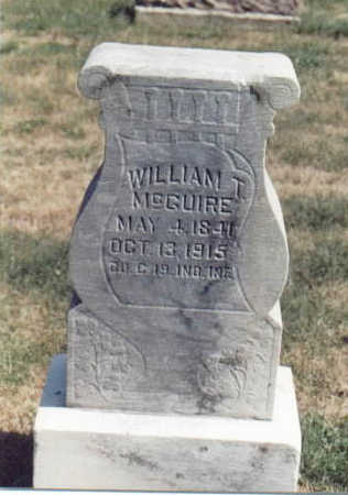 MCGUIRE, WILLIAM T. - Dallas County, Iowa | WILLIAM T. MCGUIRE