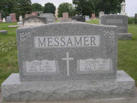 MESSAMER, JOSEPH N. - Dallas County, Iowa | JOSEPH N. MESSAMER