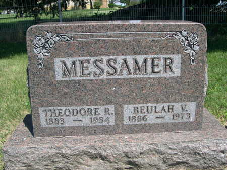 MESSAMER, BEULAH V. - Dallas County, Iowa | BEULAH V. MESSAMER