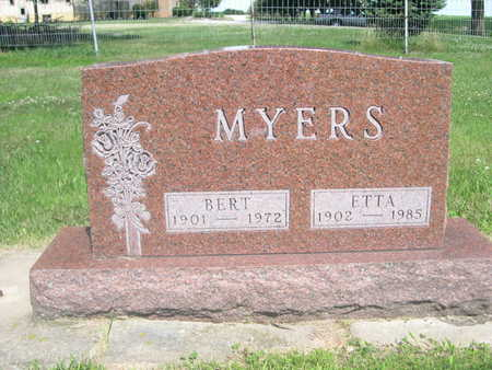 MEYERS, BERT - Dallas County, Iowa | BERT MEYERS