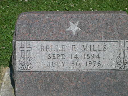 MILLS, BELLE F. - Dallas County, Iowa | BELLE F. MILLS