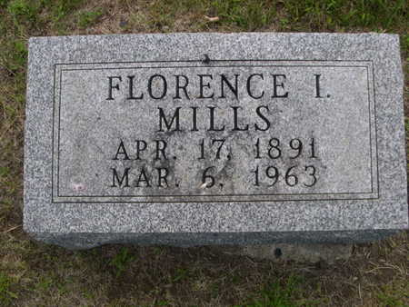 MILLS, FLORENCE - Dallas County, Iowa | FLORENCE MILLS