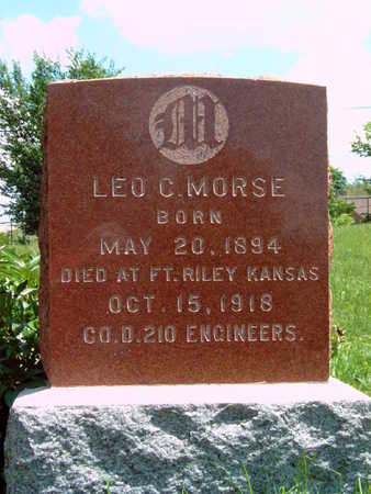 MORSE, LEO C - Dallas County, Iowa | LEO C MORSE