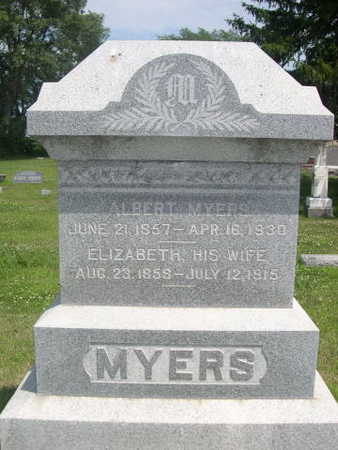 MYERS, ELIZABETH - Dallas County, Iowa | ELIZABETH MYERS