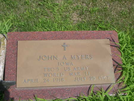 MYERS, JOHN A. - Dallas County, Iowa | JOHN A. MYERS