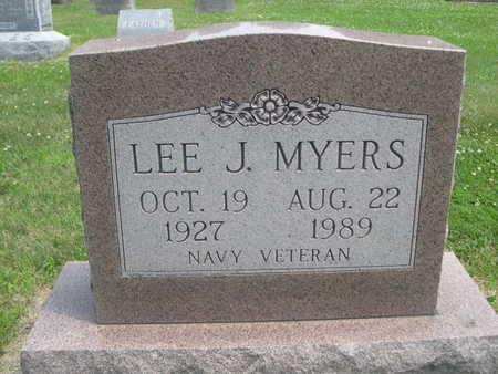 MYERS, LEE J. - Dallas County, Iowa | LEE J. MYERS