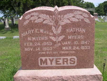 MYERS, MARY E. - Dallas County, Iowa | MARY E. MYERS