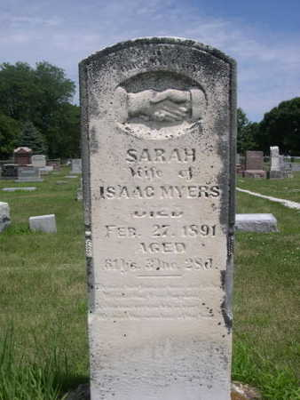 MYERS, SARAH - Dallas County, Iowa | SARAH MYERS