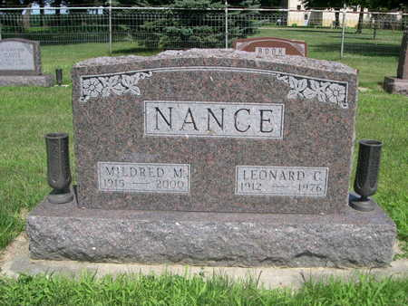 NANCE, MILDRED M. - Dallas County, Iowa | MILDRED M. NANCE