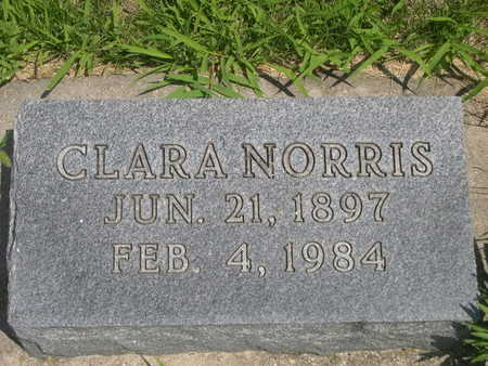 NORRIS, CLARA - Dallas County, Iowa | CLARA NORRIS