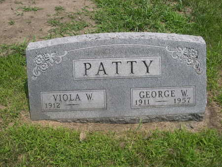 PATTY, VIOLA W. - Dallas County, Iowa | VIOLA W. PATTY