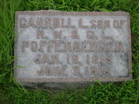 POFFENBERGER, CARROLL L. - Dallas County, Iowa | CARROLL L. POFFENBERGER