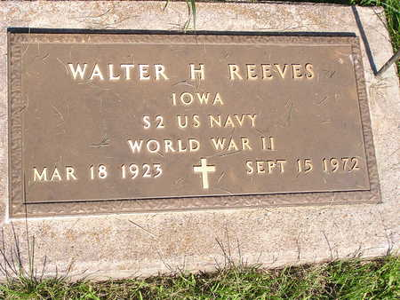 REEVES, WALTER H - Dallas County, Iowa | WALTER H REEVES
