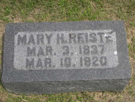 REISTE, MARY H. - Dallas County, Iowa | MARY H. REISTE