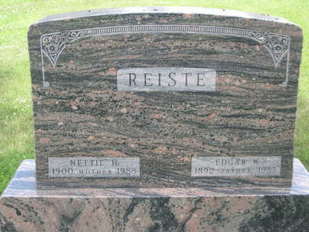 REISTE, EDGAR W. - Dallas County, Iowa | EDGAR W. REISTE