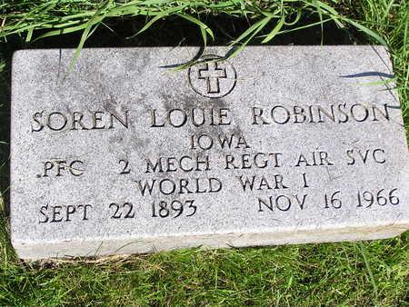 ROBINSON, SOREN LOUIE - Dallas County, Iowa   SOREN LOUIE ROBINSON