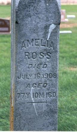 BOYCE OR BOICE ROSS, AMELIA - Dallas County, Iowa | AMELIA BOYCE OR BOICE ROSS
