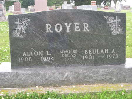 ROYER, ALTON L - Dallas County, Iowa | ALTON L ROYER