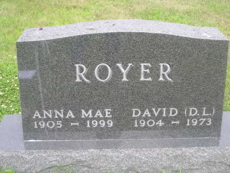 ROYER, ANNA MAE - Dallas County, Iowa | ANNA MAE ROYER