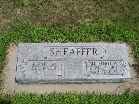 SHEAFFER, DORIS M. - Dallas County, Iowa | DORIS M. SHEAFFER