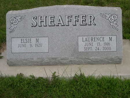 SHEAFFER, ELSIE M. - Dallas County, Iowa | ELSIE M. SHEAFFER