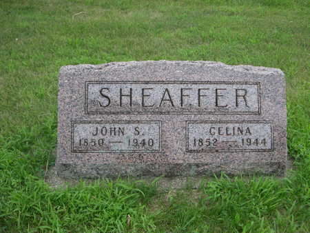 SHEAFFER, JOHN S. - Dallas County, Iowa | JOHN S. SHEAFFER