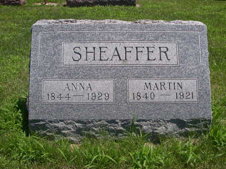 SHEAFFER, ANNA - Dallas County, Iowa | ANNA SHEAFFER