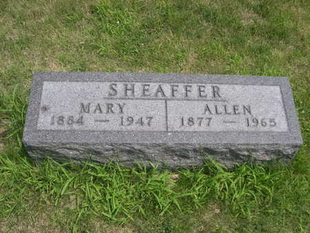 SHEAFFER, MARY - Dallas County, Iowa | MARY SHEAFFER