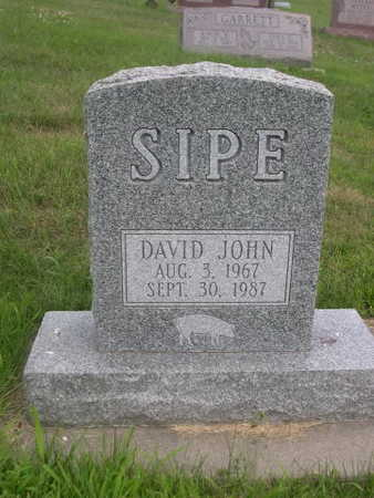 SIPE, DAVID JOHN - Dallas County, Iowa | DAVID JOHN SIPE