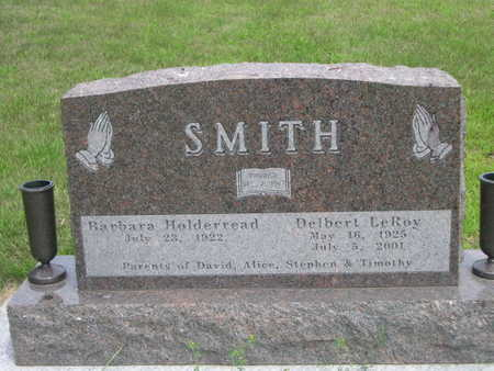 HOLDERREAD SMITH, BARBARA HOLDERREAD - Dallas County, Iowa | BARBARA HOLDERREAD HOLDERREAD SMITH
