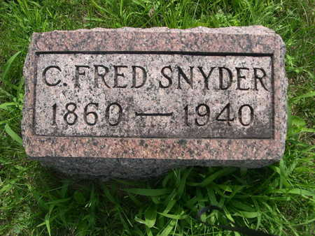SNYDER, C. FRED - Dallas County, Iowa | C. FRED SNYDER