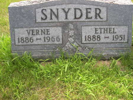 SNYDER, ETHEL - Dallas County, Iowa | ETHEL SNYDER