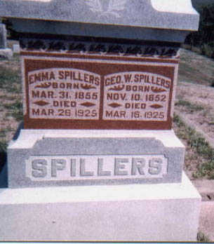 SPILLERS, EMMA - Dallas County, Iowa | EMMA SPILLERS